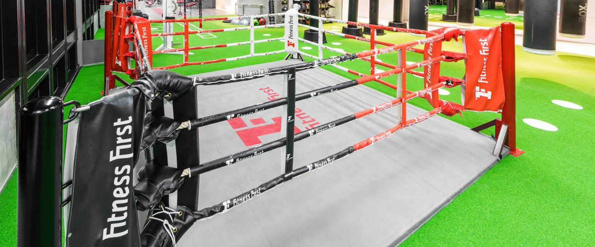 Fitness First CentralPlaza Bangna Boxing Area