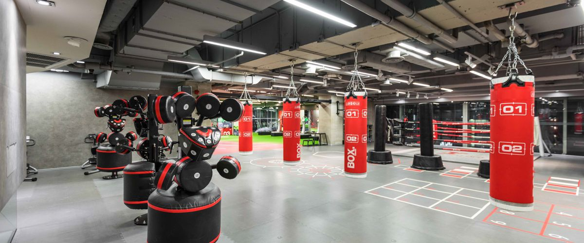 Fitness First Platinum Siam Paragon Boxing Area
