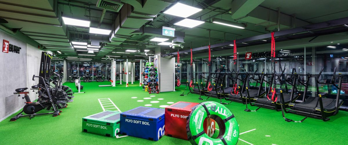 Fitness First Platinum Siam Paragon Freestyle Area