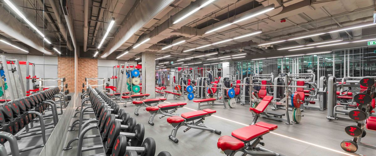 Fitness First Platinum Aia Capital Center Weight Area