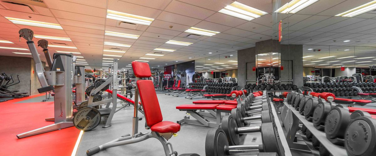 Fitness First Platinum Sathorn Square Weight Area