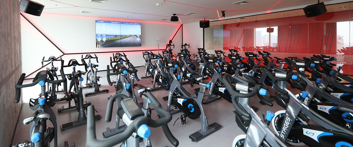 Fitness First Platinum T One Building Cycling Studio