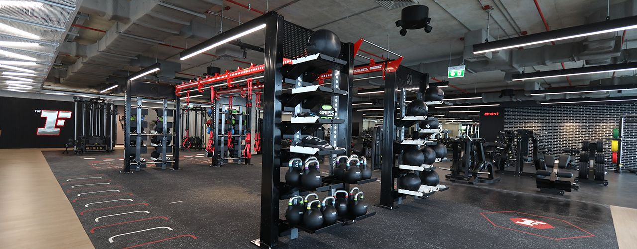 Fitness First Platinum T One Building Freestyle Area 2
