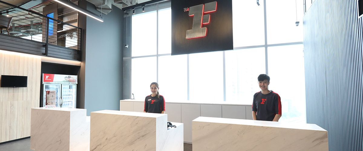 Fitness First Platinum T One Building Front Desk