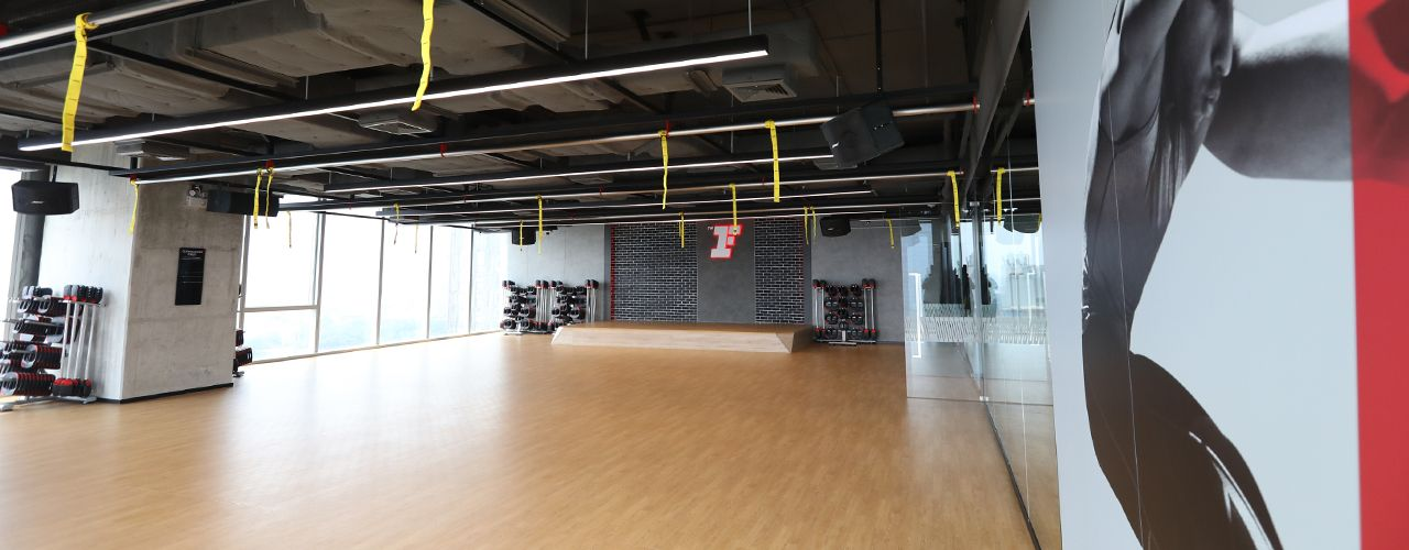 Fitness First Platinum T One Building Group Exercise Studio