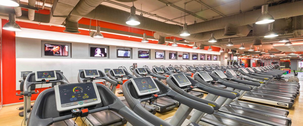 Fitness First Seacon Square Cardio Area