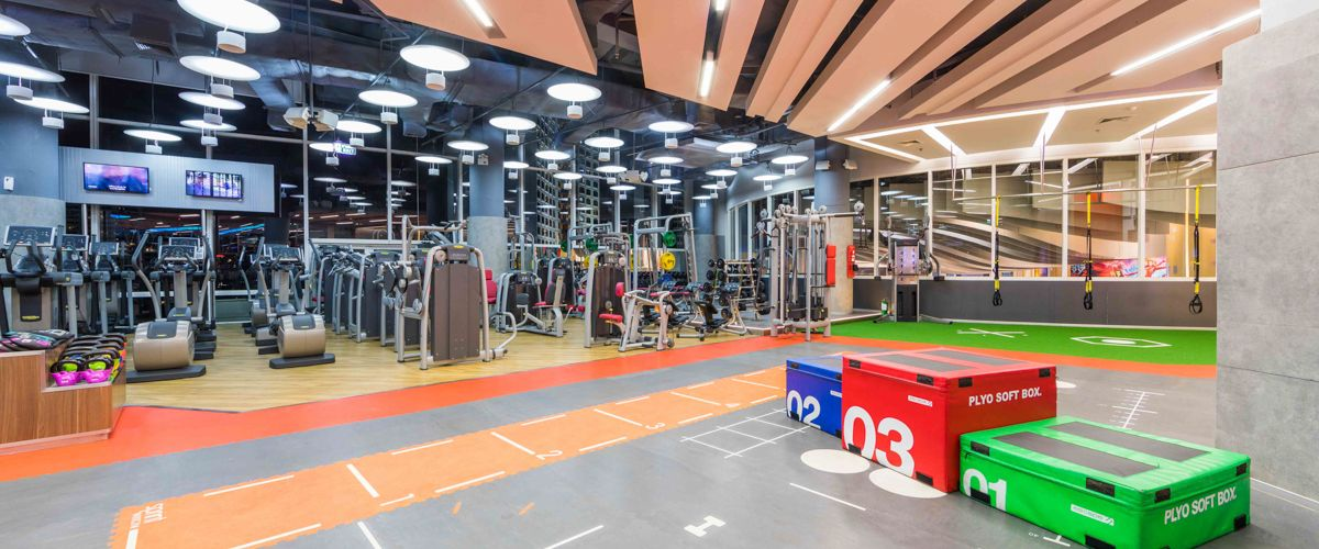 Fitness First Terminal 21 Freestyle Area 1