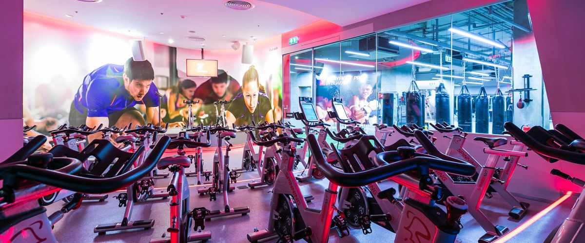 Fitness First Crystal Ramindra Cycling Studio