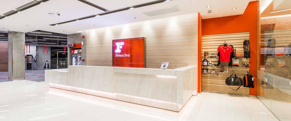Fitness First Crystal Ramindra Front Desk