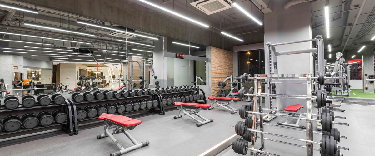 Fitness First Crystal Ramindra Weight Area