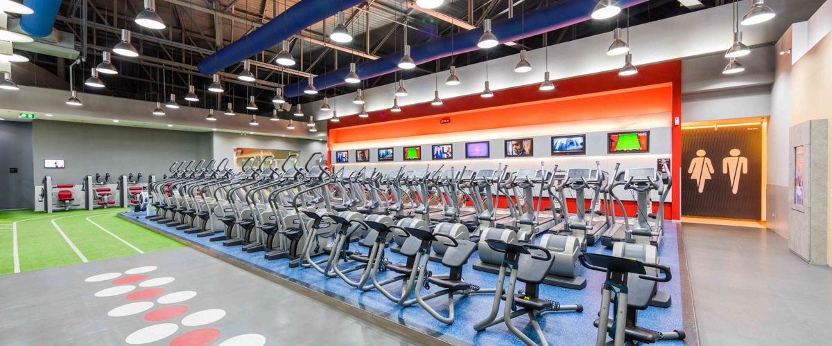 Fitness First The Mall Korat Cardio Area
