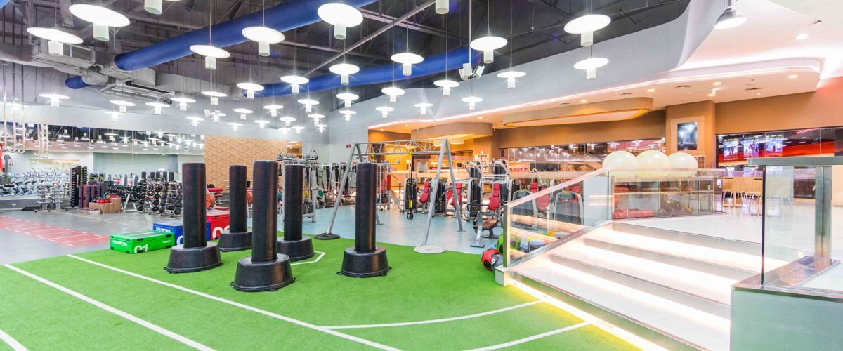 Fitness First The Mall Korat Freestyle Area