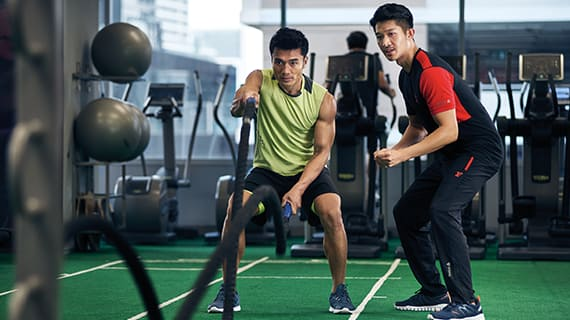 Fitness First Thailand personal trainer